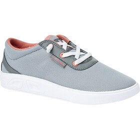 Columbia Spinner Zapatillas Niños, earl grey/hot coral